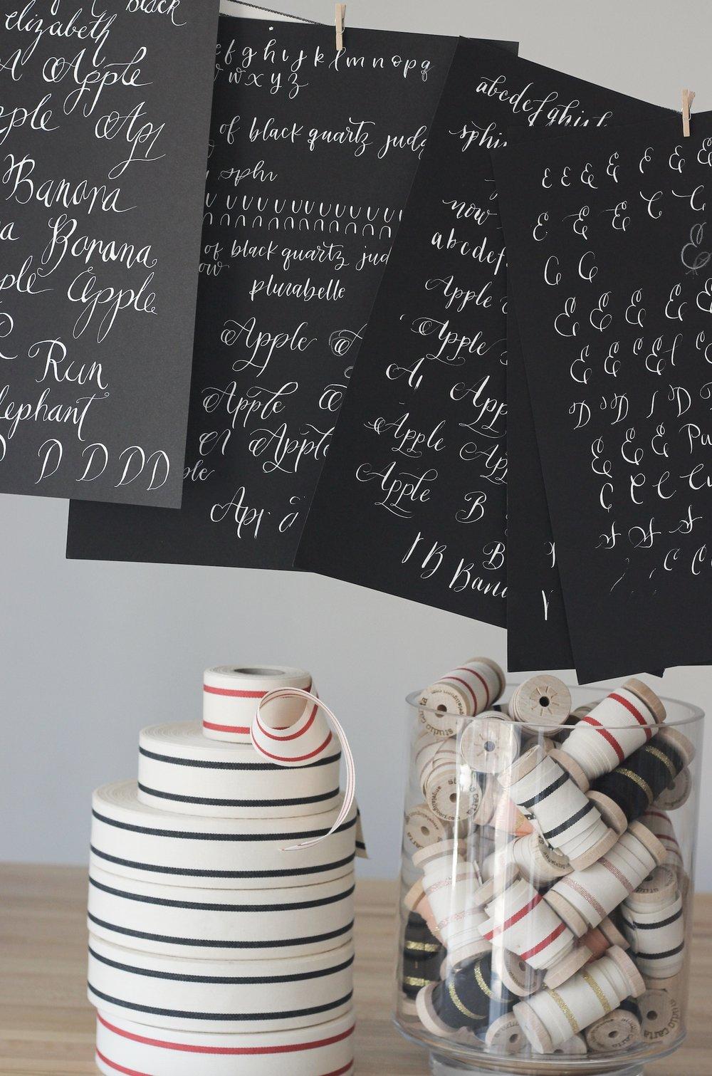 modern calligraphy with Plurabelle Studio4.jpg