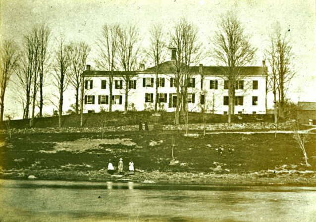 The New Paltz Academy in the mid-1800s.
