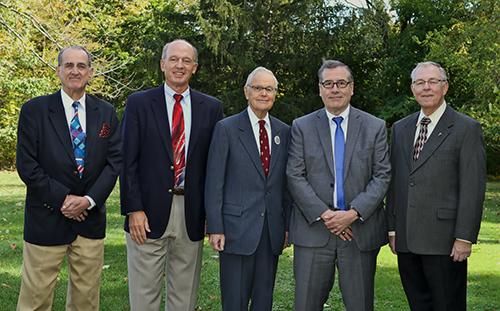 HFA Directors John O. Delemater, Thad C. Hasbrouck, Robert W. Hasbrouck, Robert H. Freehill, and Robert C. Hasbrouck.