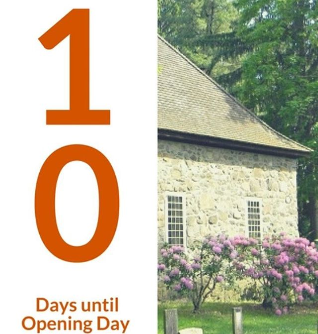 """We can't believe that we are now only 10 more days until the highly anticipated opening of Huguenot Street.  Fact of the day: According to the National Huguenot Society, the word """"Huguenot"""" may be a combination of Flemish and German, and describes Protestants who met to study the Bible in secret. These people were called Huis Genooten, meaning """"house fellows"""". #TheCountDownContinues"""