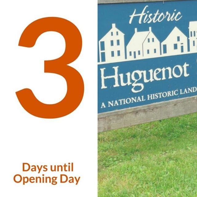 Newly cut grass, the smell of fresh air, and a really cool wigwam. 3 reasons why you would want to come to the opening of Historic Huguenot Street this Saturday!!!! #TheCountDownContinues