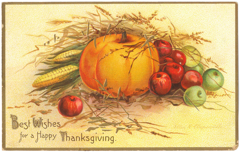 Greeting card from the HHS Archives