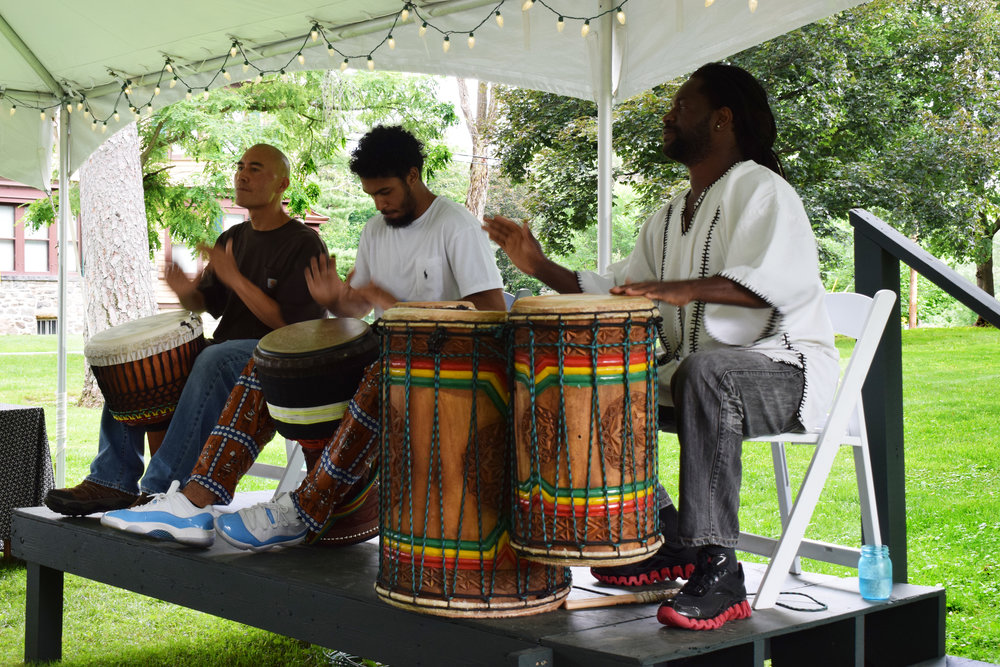 Traditional West African drum ensemble Melody Africa