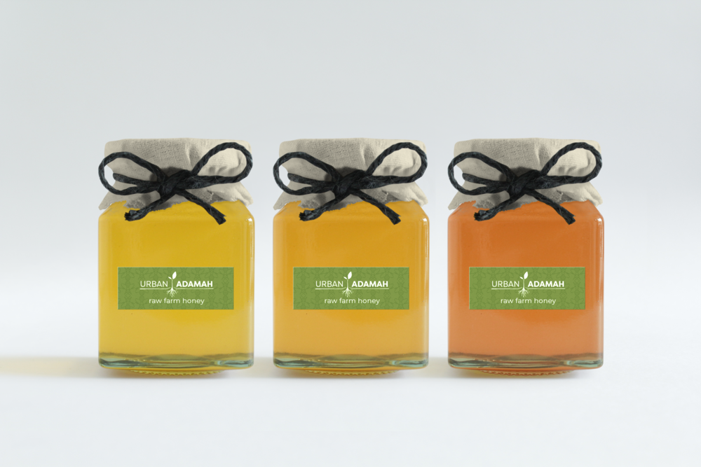Honey Label Design