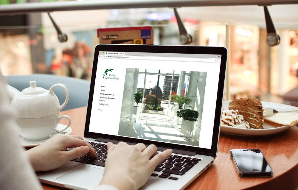 Botanic Innovations Website Build & Design