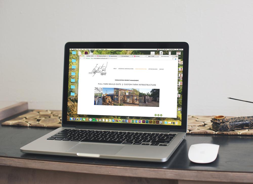 Traditional Craftworks Website Build & Design