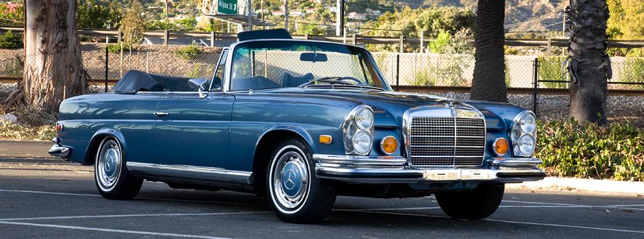 1971 mercedes benz 280se 3.5 cabriolet — winning makes