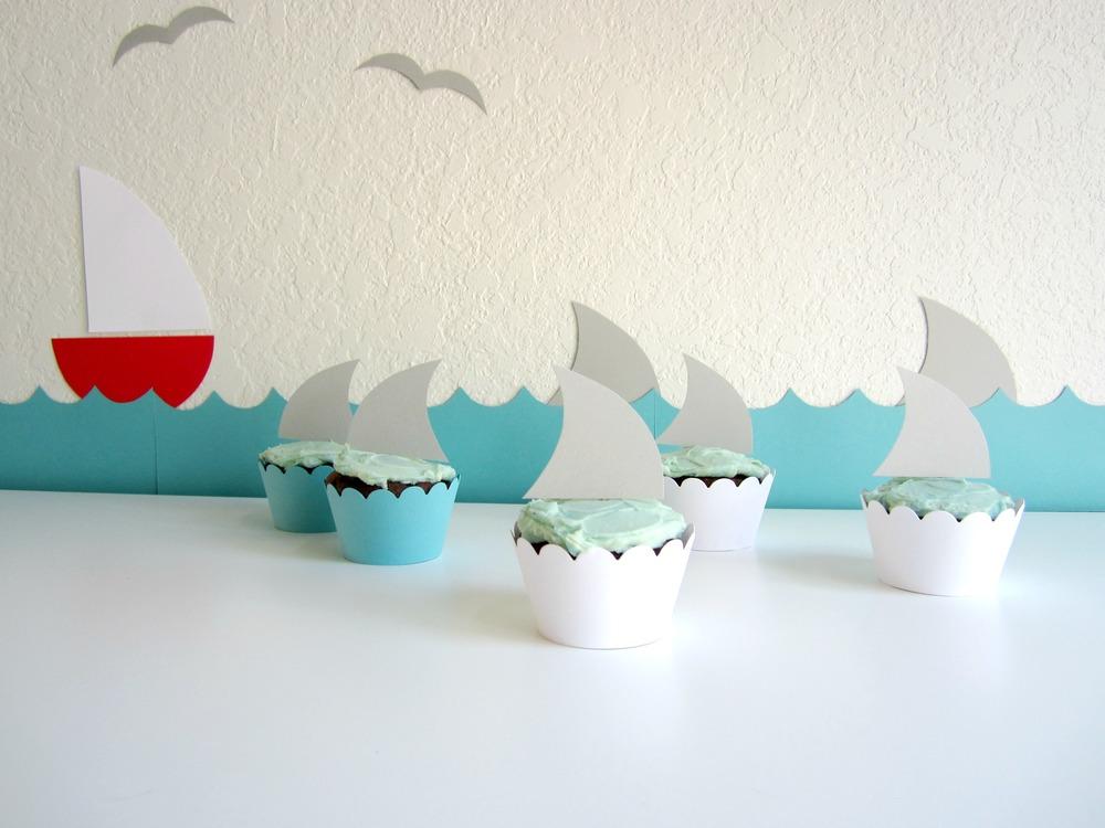 Design Sprinkle: Easy Shark Week Decorations