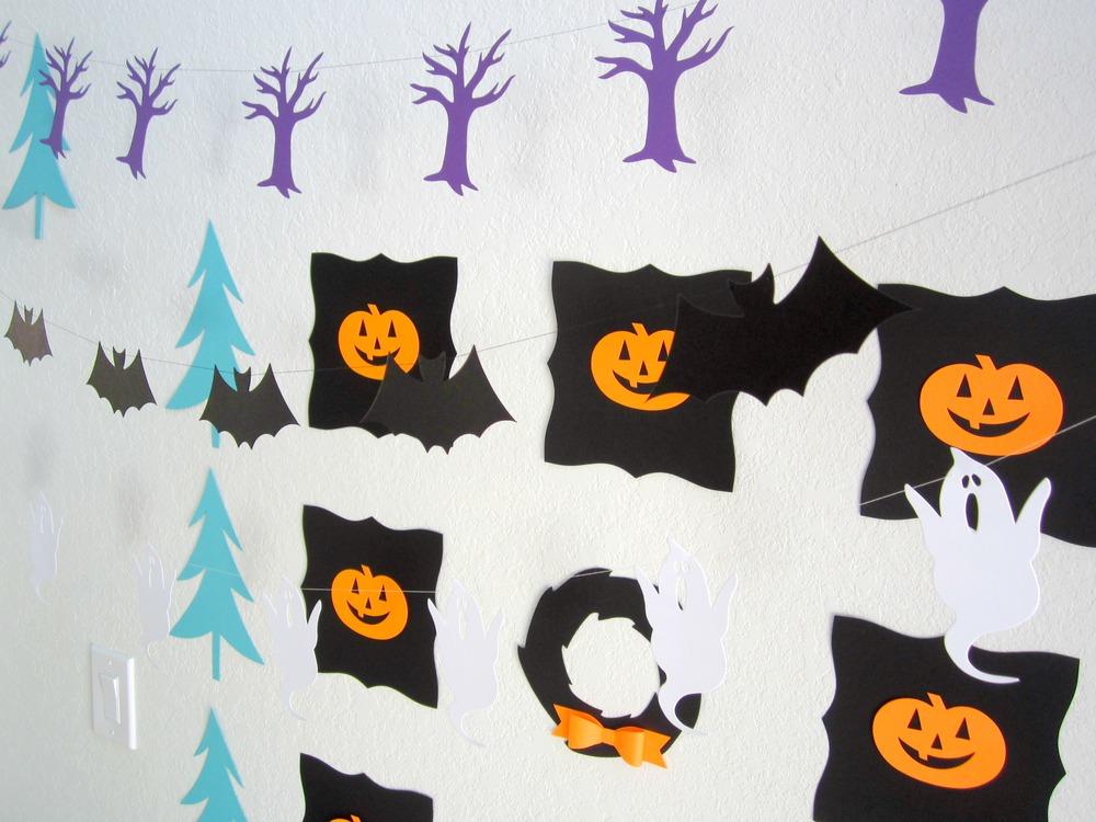 Design Sprinkle:  Halloween Decorating Ideas