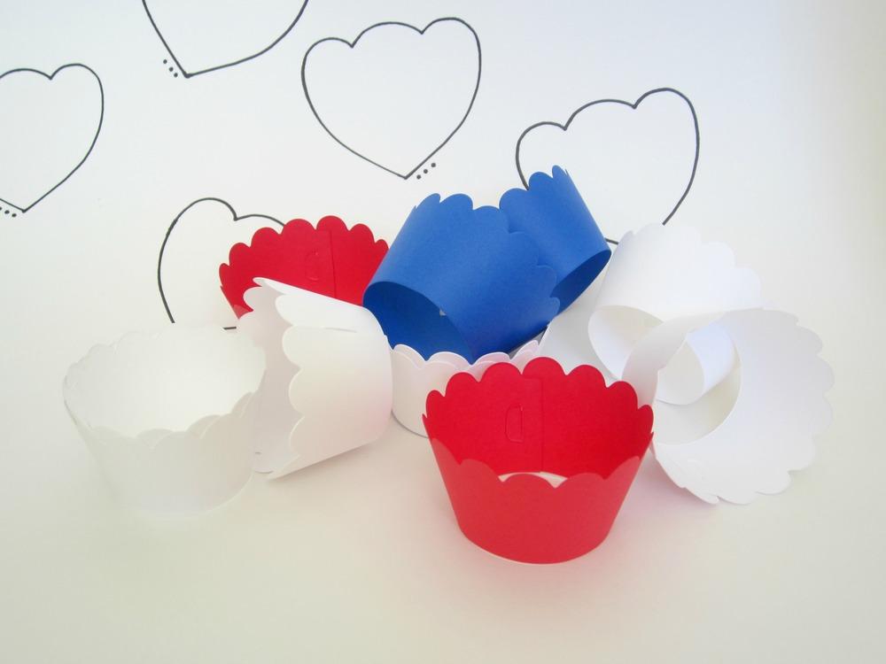Design Sprinkle:  Cupcake Wrappers