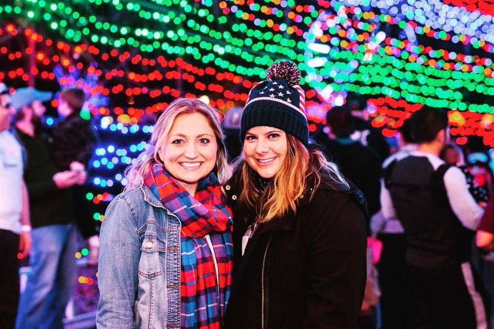 This is my partner in production-crime, Courtney. We manage Trail of Lights marketing together and have become very dear friends. She lives in FL, but is my closest friend in ATX (when she's here)!