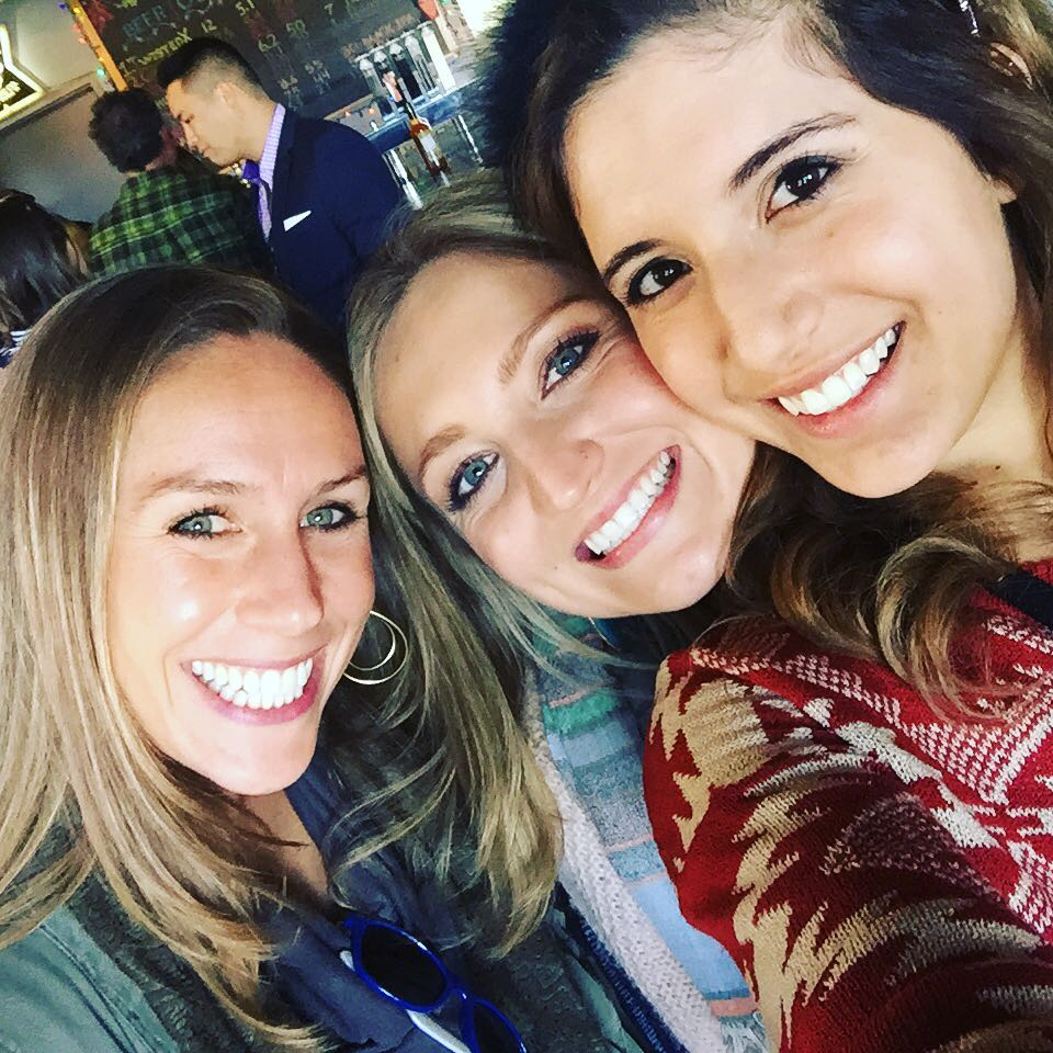 My friend Megan, Allegra and I at Allegra's birthday party. We chartered a bus to Dripping Springs and visited the Deep Eddy Vodka distrillery as well as some other breweries. We ended the day at the Salt Lick.