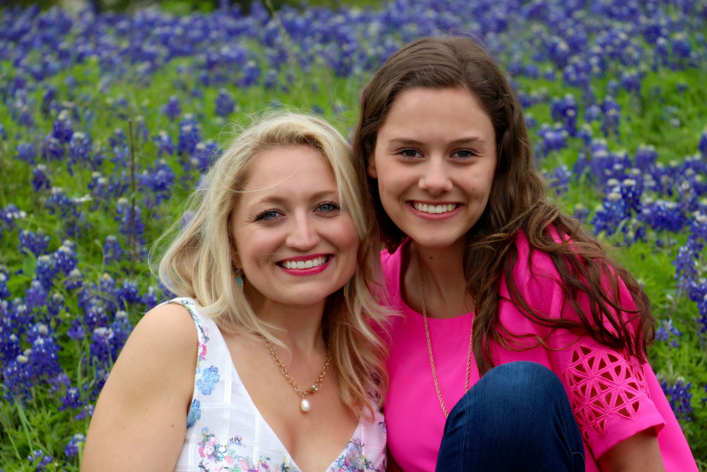 My SIL Madison and I  (For those looking for a great hot pink lip color, this one is my fave:  Bobbi Brown Art Stick in Hot Berry )