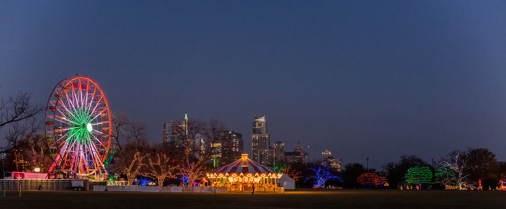 Photo by Andrew Bennett Photography, Courtesy of Austin Trail of Lights