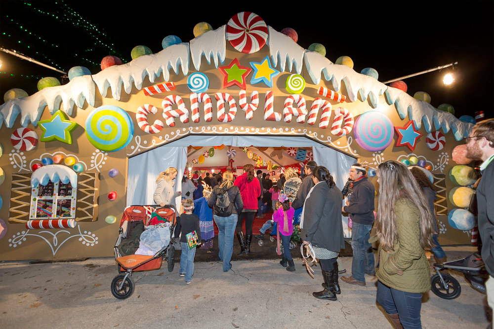 Photo by Margaret Licarione, Courtesy of Austin Trail of Lights