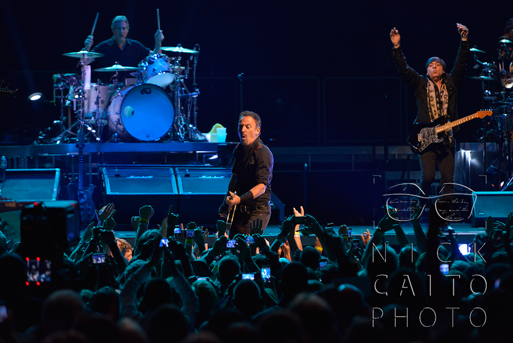 "Bruce Springsteen performing ""Badlands"" at Mohegan Sun. See all the photos  HERE at courant.com"