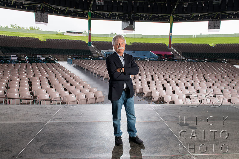 Jim Koplik worked in concert promotions for decades, and built The Meadows in Hartford. The venue is having its 20th season summer 2014.
