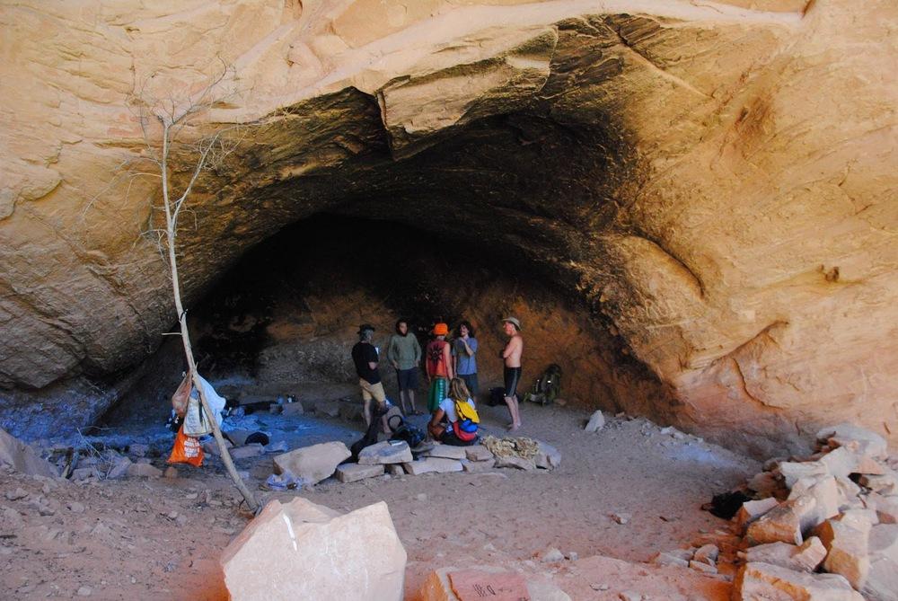 Daniel's cave in Moab, UT