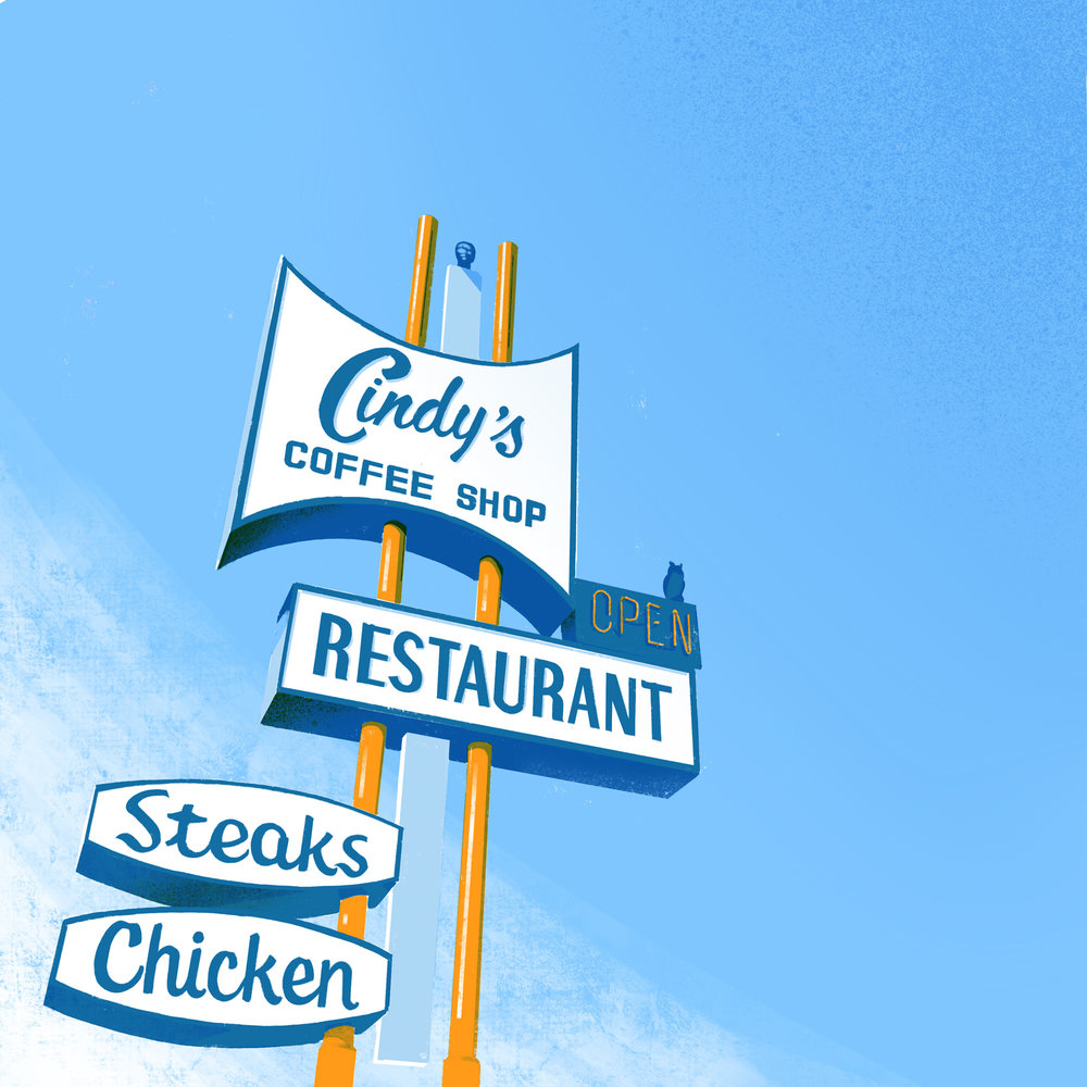 Cindy's Restaurant • Eagle Rock, Los Angeles, CA