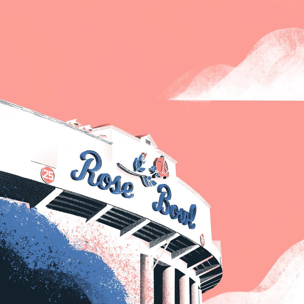The Rose Bowl •Pasadena, CA