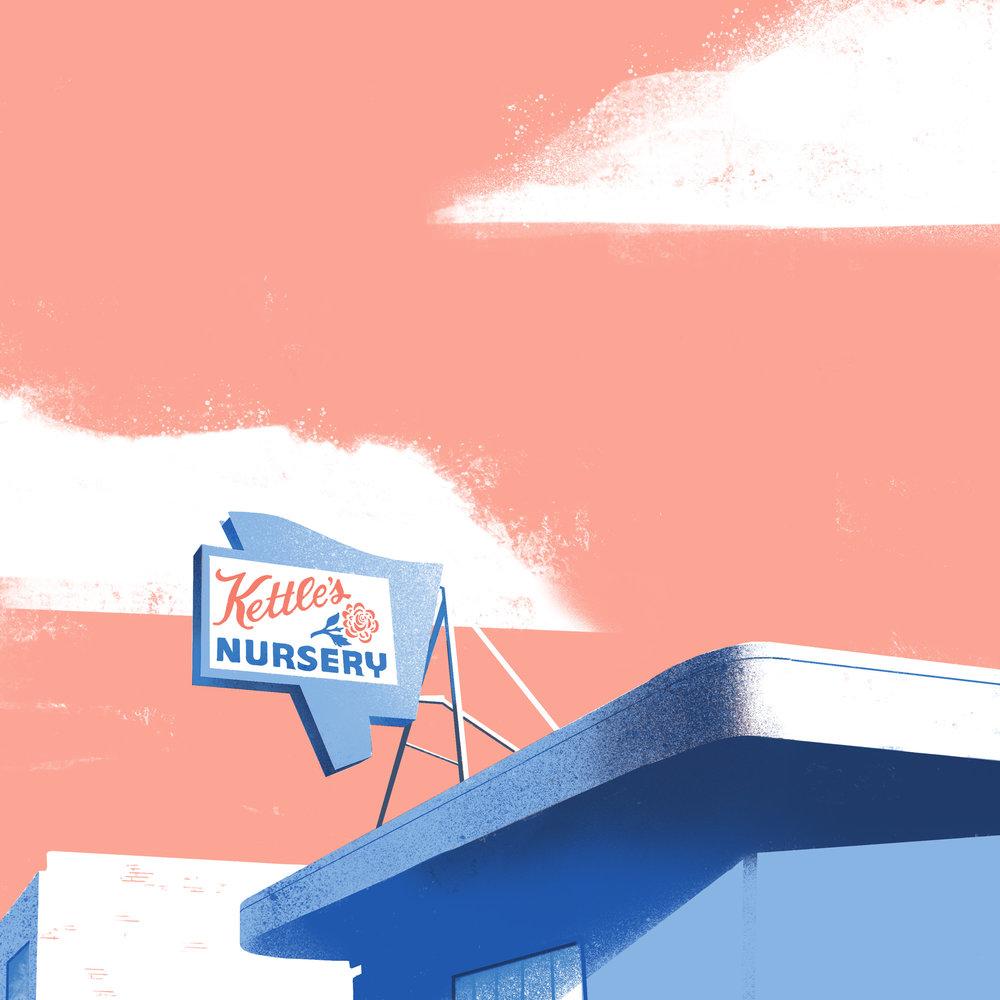 Kettle's Nursery • Pasadena, CA