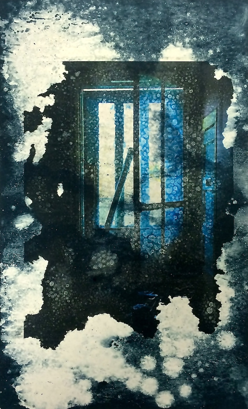 Monotype, Drypoint and Photo Transfer