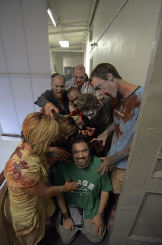 Shoot Day 2 Zombies with A.J. Briones