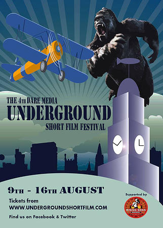 The 4th Annual Dare Media Underground Short Film Festival, August 9-16 in Cork, Ireland