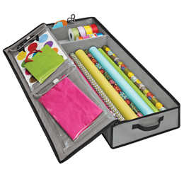 Underbed storage tote from The Container Store