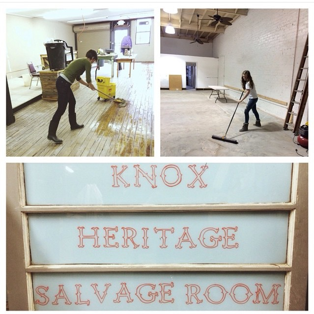 Volunteering at Knox Heritage Salvage Shop