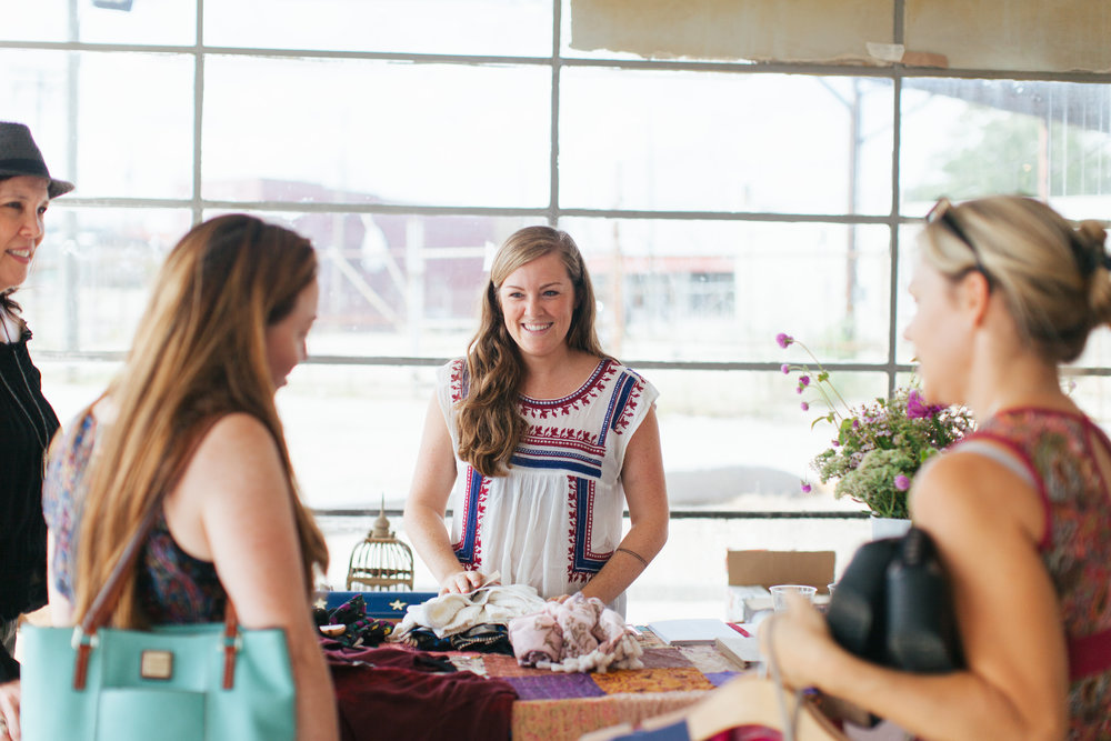 Fall Clothing Boutique at The Hive / photo by: Texture Photo