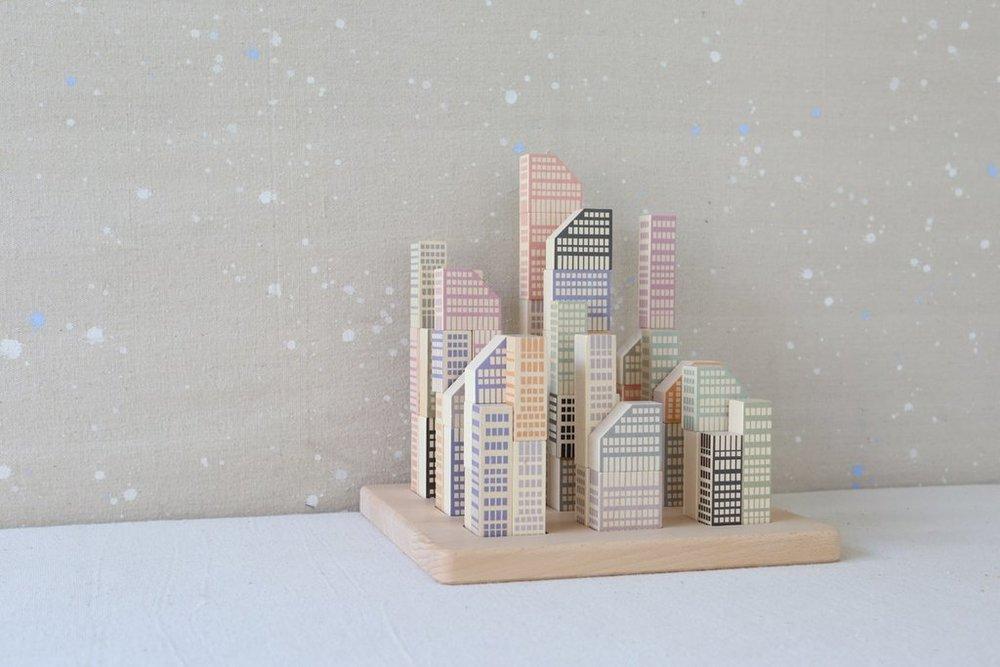 city scape puzzle
