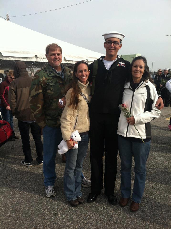 Erin & her family.