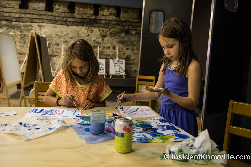 The Basement community art studio.  Image Source
