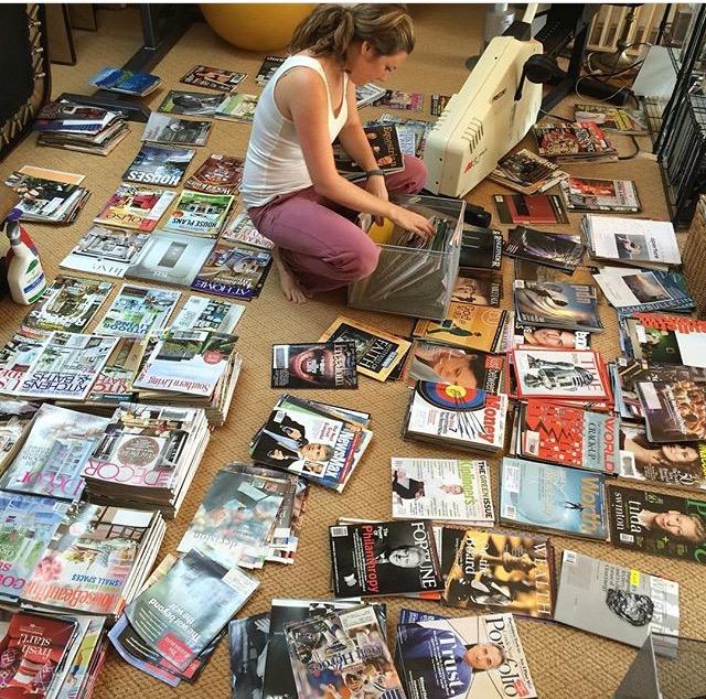 "Caroline on the job ""Magazine edition"""