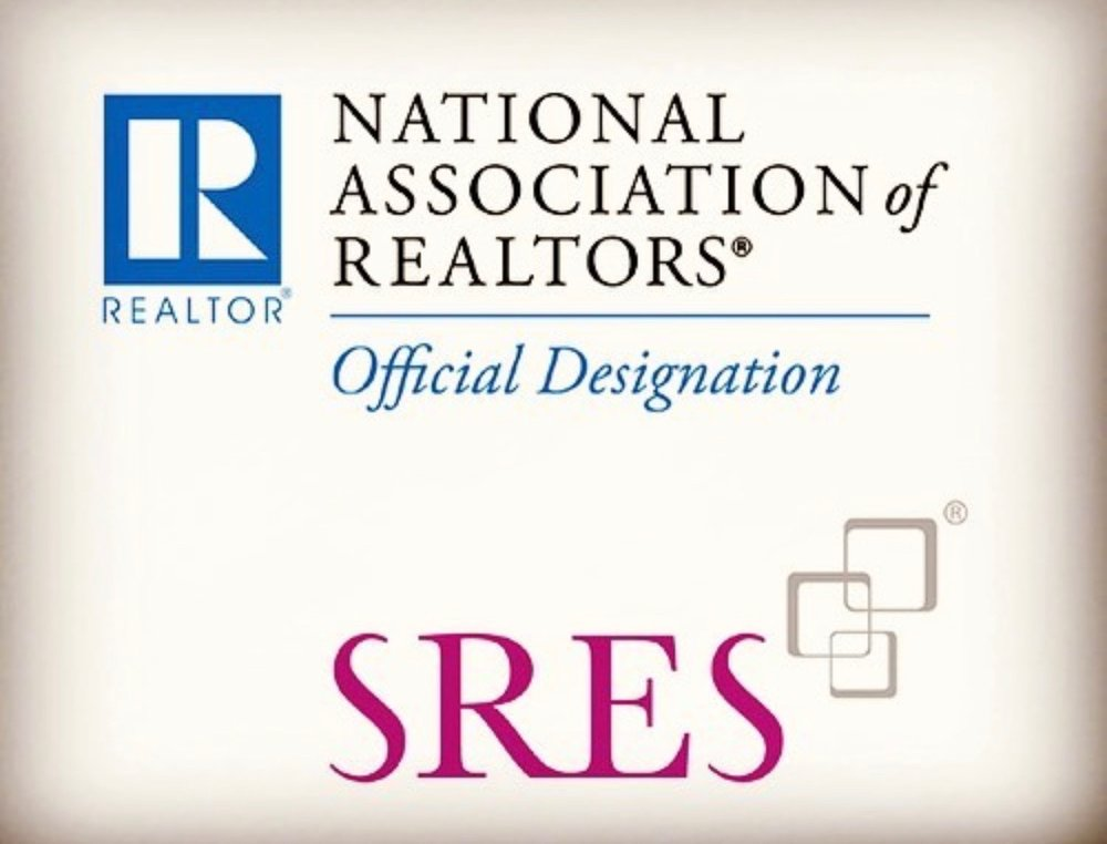 National Association of Realtors Official designation and Seniors Real Estate Specialist® (SRES®) designation.