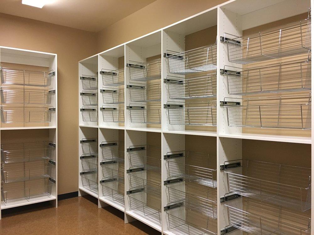 BRAND SPANKIN' new closet system!