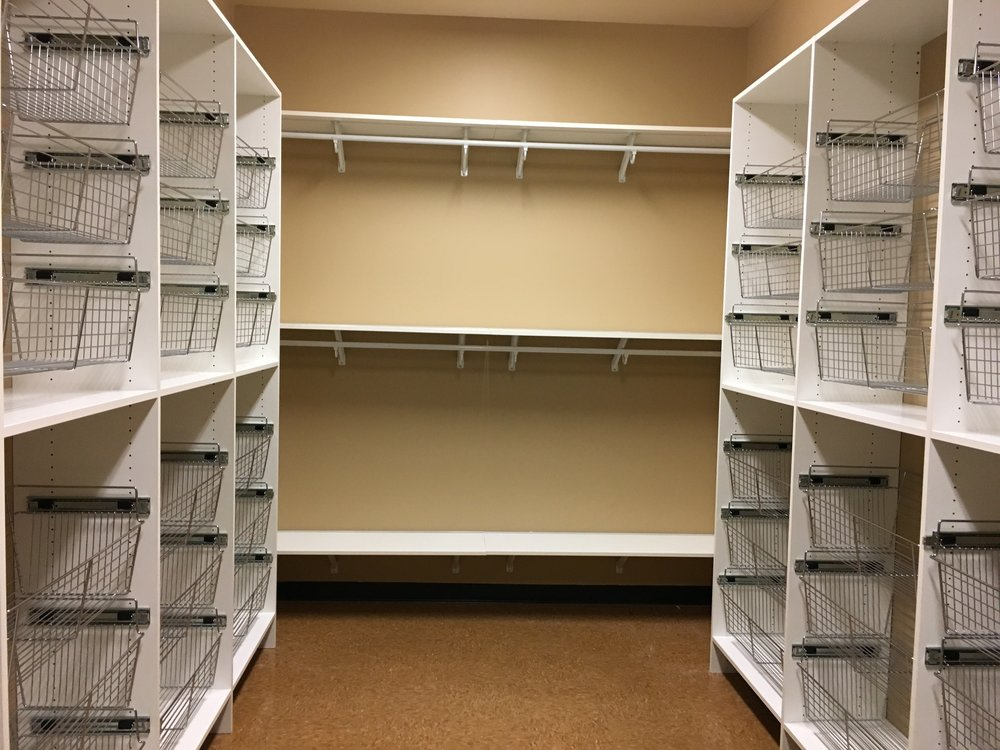 Commercial Closet Maid system installed by Craig Warren of  Home Works