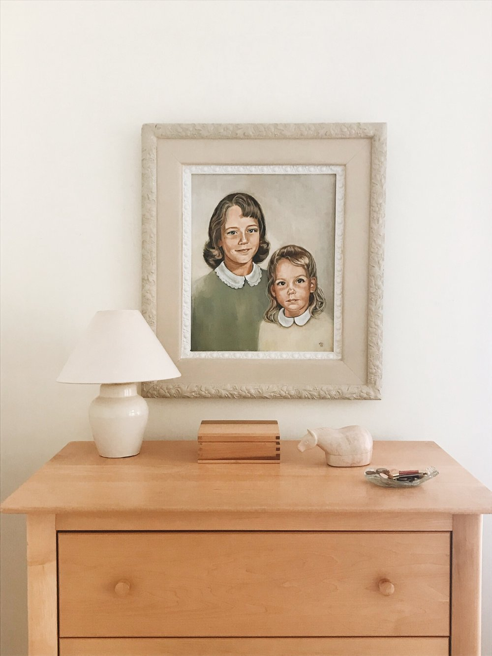 portrait of the Webb's daughters by Barbara