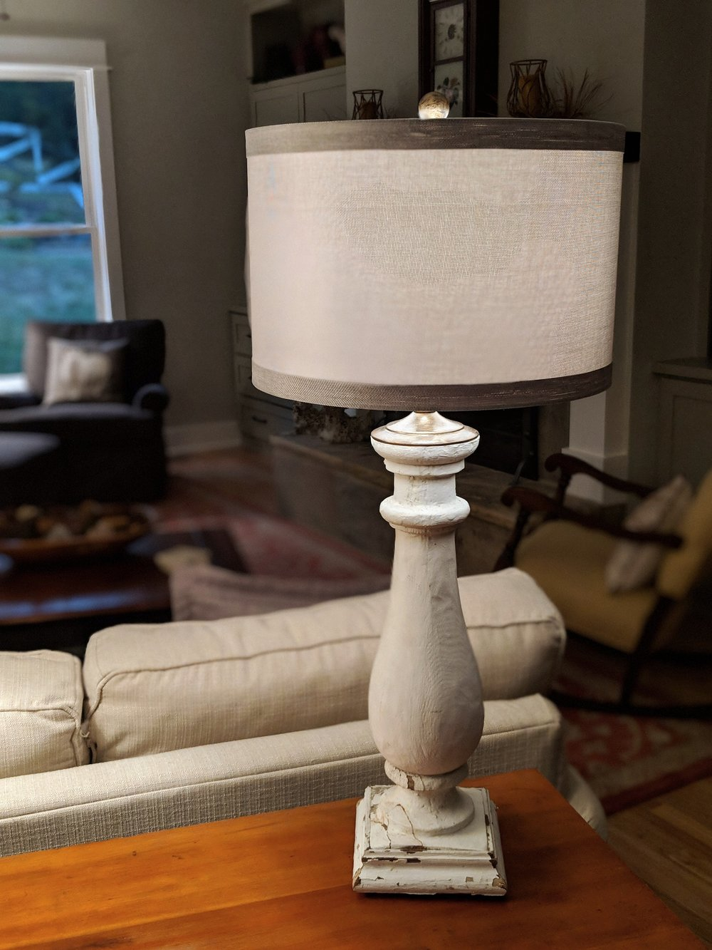 Architectural salvage custom made lamps by White Station Archetectual Salvage
