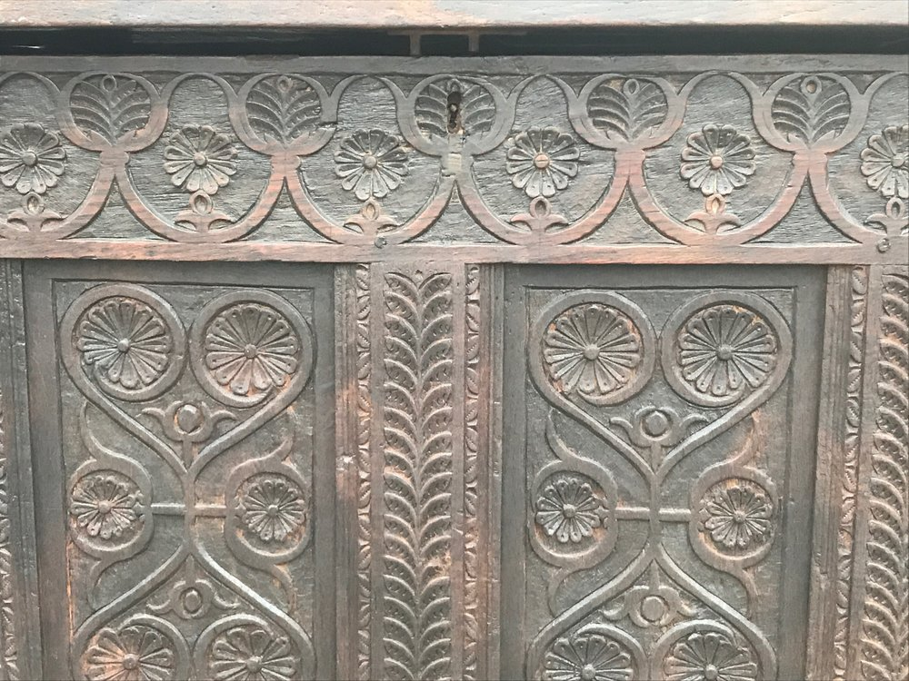 Beautiful detail work on a 400 year old piece!