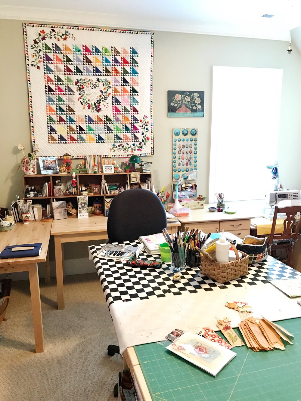 Susie's craft and art room