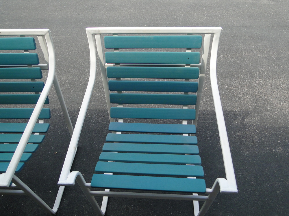 OK, they do not make stuff like this anymore - and you already know that. Samsonite  furniture from the 1960's ! How many other products are even still ... - Samsonite Patio Furniture-Replacement Slings