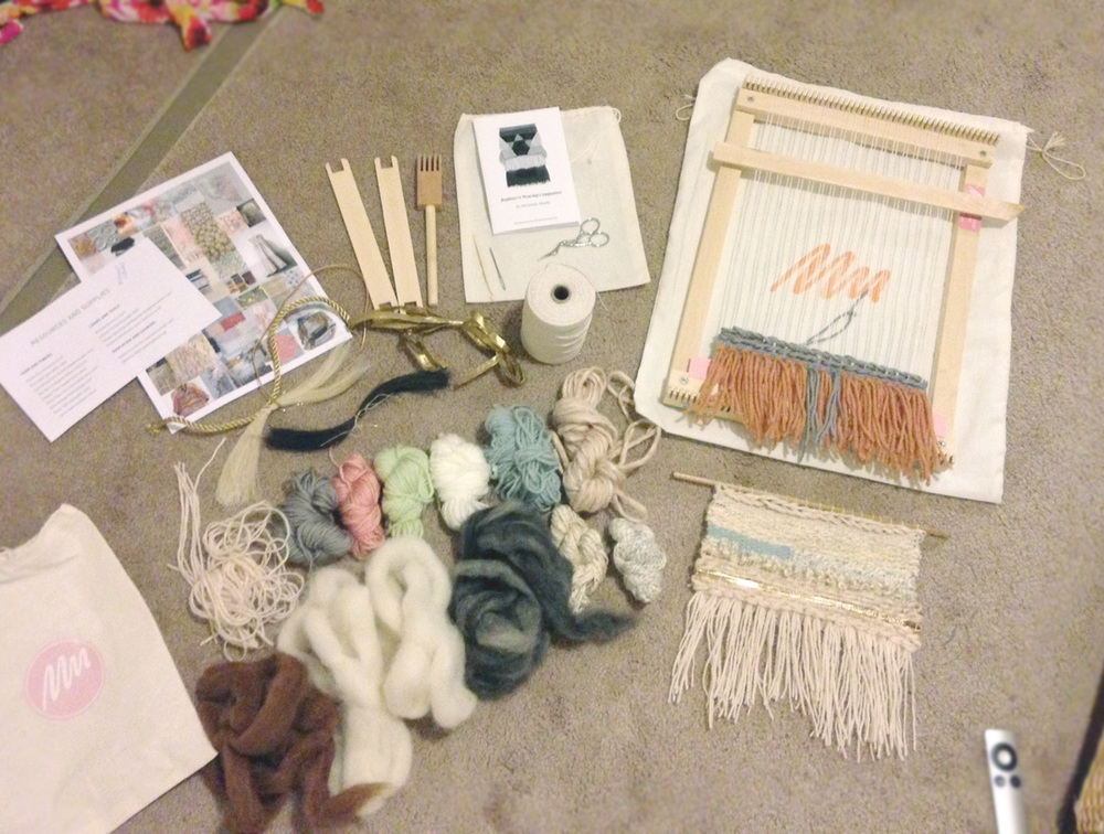 My weaving loot from the day!