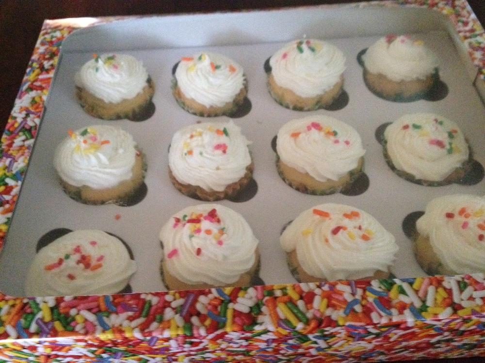 Gluten-free mini cupcakes for Lori and Gary