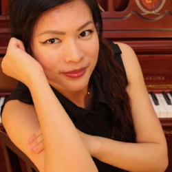 Eliza has a broad teaching experience and performed as a solo concert pianist, chamber musician and accompanist in Taiwan, UK, Germany and US. Her music education background and related trainings in children psychology helps her to be a unique and better than just a piano teacher. She has over 15 years of private lesson experience and 4 years of public school experience. She specialized in preparing student for ABRSM exam in piano, theory and aural training. Her teaching style focuses on discovering talent, preparing for exam/ recitals and music for pleasure.  M.M. in Piano Performance from Birmingham Conservatoire, UK  B.M. in Music Education, Piano from National Hsinchu Teacher University, Taiwan