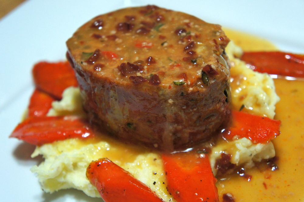 Ultimate Meatloaf with Glazed Carrots and Chipotle Gravy