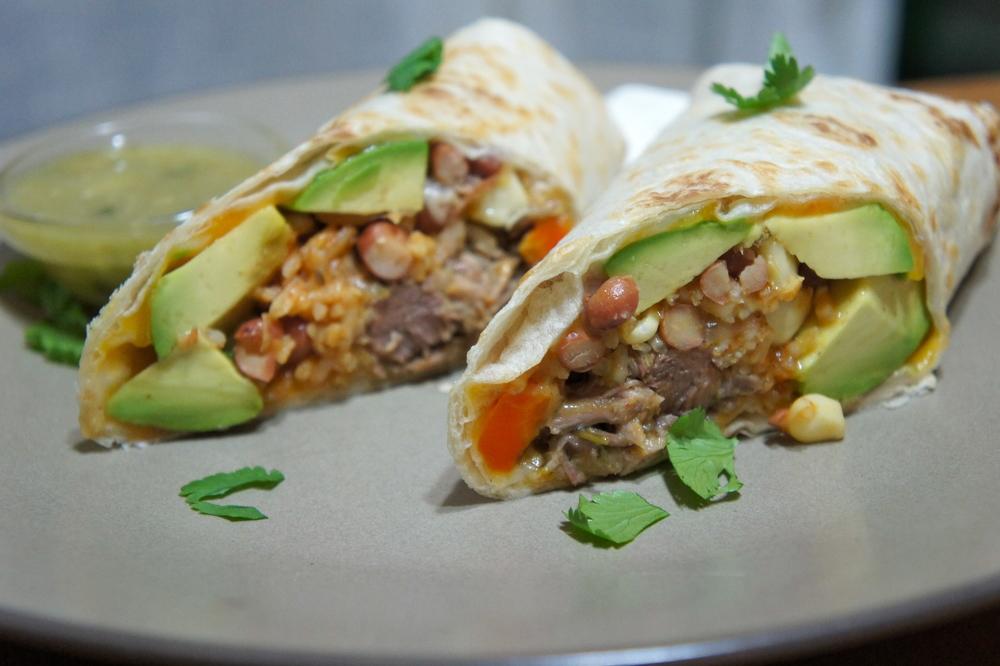 Chile Verde Burrito 2