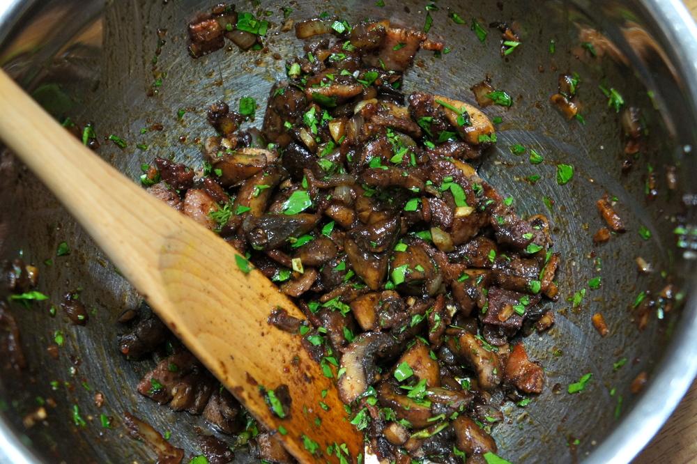 Bacon Balsamic Mushrooms