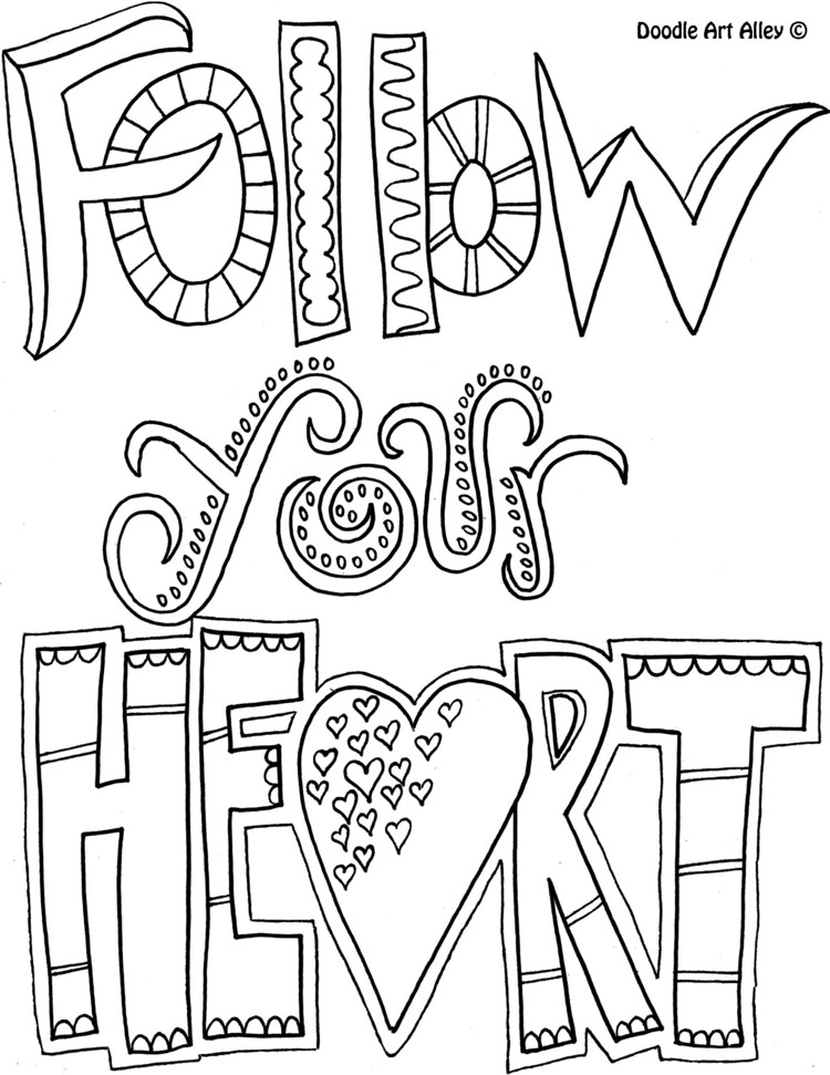 They Now Make Coloring Books For Adults Search Amazon Or Try These Free Doodle Art Alley Pages You Can Print Out